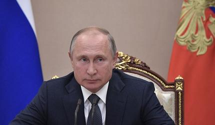 Владимир Путин прибыл в Кабардино-Балкарию