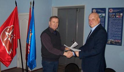 Волгоградские ДОСААФ и «Юнармия» укрепляют сотрудничество