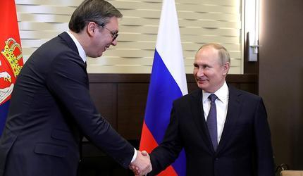 В Сочи проходят российско-сербские переговоры