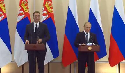 Путин назвал условия Украины по транзиту газа неприемлемыми