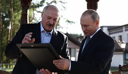 Встреча Путина и Лукашенко в Сочи. Главные вопросы к обсуждению