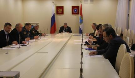 Члены наблюдательного совета обсудили вопросы деятельности областного ДОСААФ