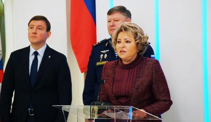 Открылась выставка памяти 6-й роты псковских десантников в Совете Федерации