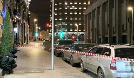 В Москве стрельба у здания ФСБ