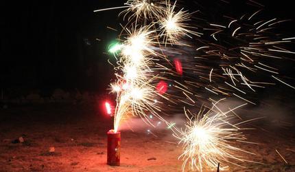 В городском округе Шатура определены специальные места запусков фейерверков