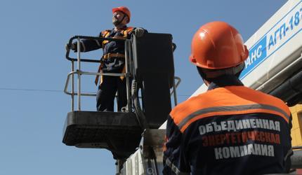 АО «ОЭК» завершает работы по установке наружного освещения в Московских дворах