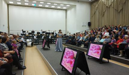 Праздничный концерт, посвящённый Дню матери, прошел в Томске
