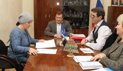 Андрей Келлер и Эдуард Живцов провели прием граждан