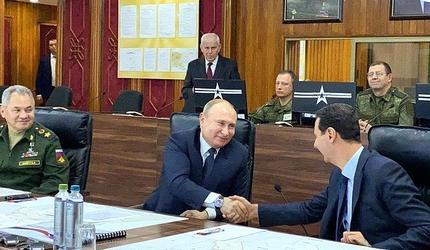 Президент России посетил Сирию с однодневным визитом