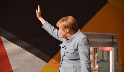 В Кремле началась встреча лидеров России и Германии