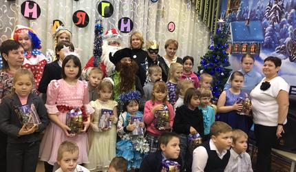 Шатуряне подарили «Новогоднее чудо» детям