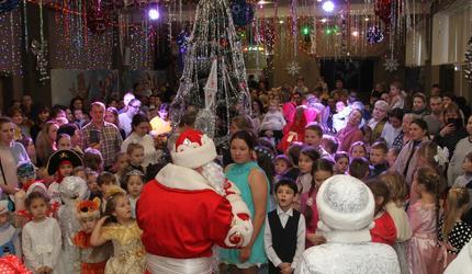 Рождественская елка собрала 500 юных шатурян
