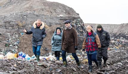 Советник губернатора Московской области Александр Коган посетил Шатуру