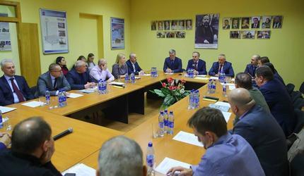 Владимир Ружицкий встретился с предпринимателями городского округа Люберцы