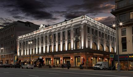 АО «ОЭК» создаст новый архитектурный облик Елисеевского магазина