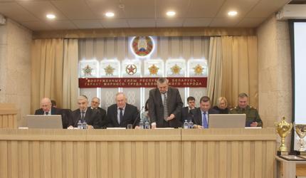 Досаафовцы Белоруссии нацелены на результат