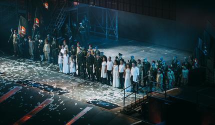 Более 7000 зрителей посетили музыкальных блокбастер «Воины духа»
