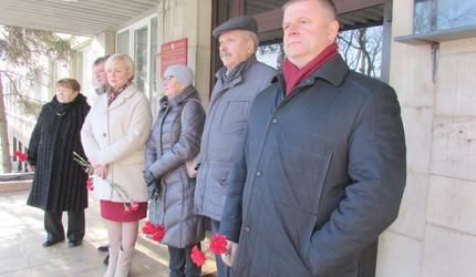 В Туле отметили 100-летие со дня рождения Героя Советского Союза Л.П. Тихмянова