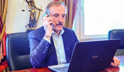 25 марта глава подмосковных Люберец проведет встречу с жителями в режиме онлайн