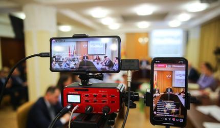 Глава Люберец провел встречу с жителями в режиме онлайн