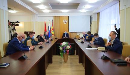 Заседание штаба по предотвращению распространения новой коронавирусной инфекции