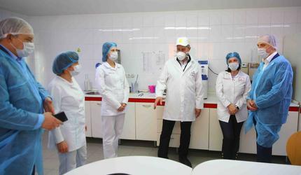 Глава подмосковных Люберец проверил одно из предприятий города
