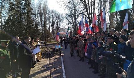 В Крыму вспоминали подвиг воинов-десантников 6-й роты