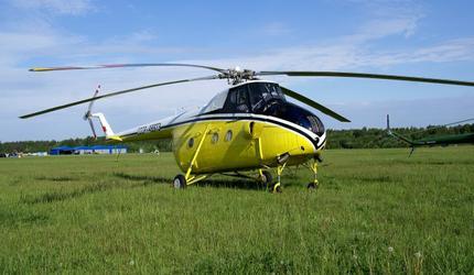 В России появится летающий экземпляр «ретро-вертолета» Ми-4