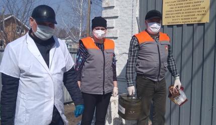 Активисты ДОСААФ РТ помогают социально незащищенным группам граждан