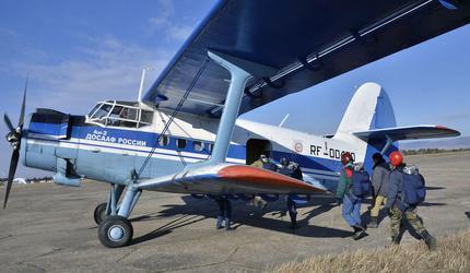 Авиаторы ДОСААФ Читы приступили к борьбе с лесными пожарами в Забайкалье