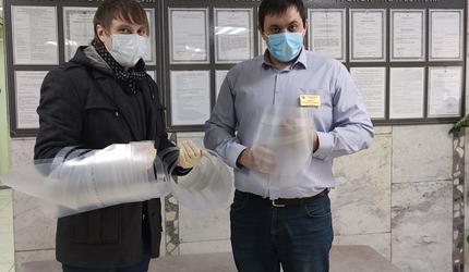 Досаафовцы из «Концепта» помогают бороться с коронавирусом
