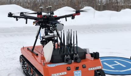 ТГУ получил патент на «умных» роботов, охотящихся на дронов-шпионов