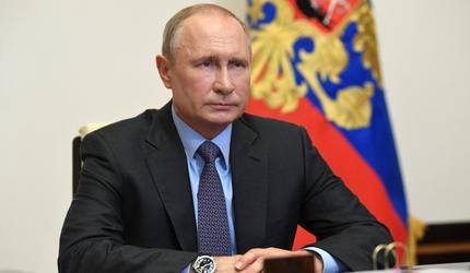 Путин дал интервью накануне 75-й годовщины победы над нацистской Германией