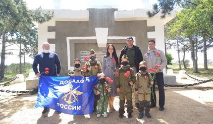 Севастопольцы почтили память погибших воинов на высоте Горная