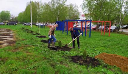 Досаафовцы Мордовии посадили «Сад Памяти»