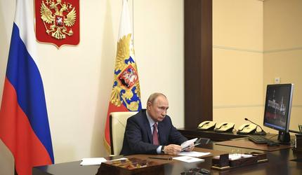 Путин провел совещание о ситуации в системе образования