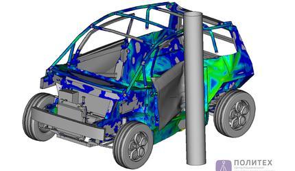 Успешно завершен второй этап разработки малогабаритного городского электромобиля