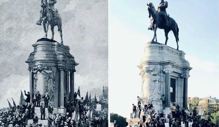Губернатор штата Вирджиния намерен снести памятник генералу Ли в Ричмонде
