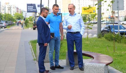 Глава подмосковных Люберец проверил работы по содержанию проспекта Победы