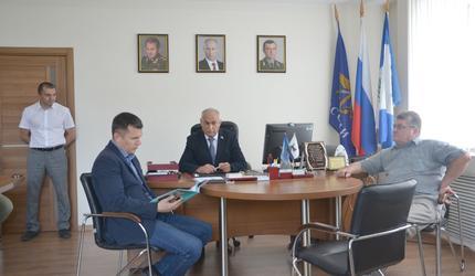 Первый зампред правительства Иркутской области побывал в ДОСААФ