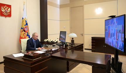 Путин провел совещание с постоянными членами Совета Безопасности
