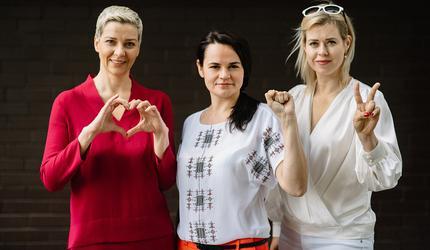 Жены кандидатов в президенты Беларусии собирают оппозицию