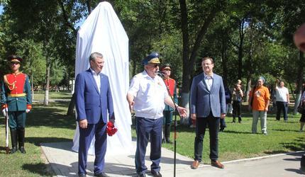 Александр Колмаков принял участие в открытии бюста Василию Маргелову в Самаре