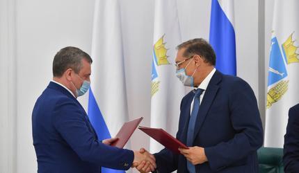 Заключено соглашение о сотрудничестве ДОСААФ России и Саратовской области