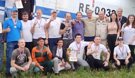 Спортсмены ДОСААФ Ингушетии победили на соревнованиях по парашютному спорту