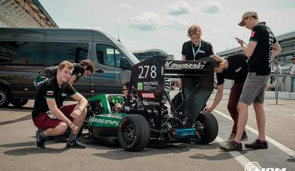 Команда Polytech North Capital Motorsport строит четвертый болид