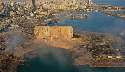 Власти Бейрута опасаются, что запасов зерна едва ли хватит на месяц