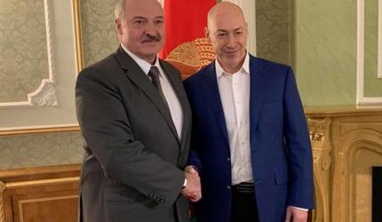 Лукашенко дал интервью украинскому журналисту Дмитрию Гордону
