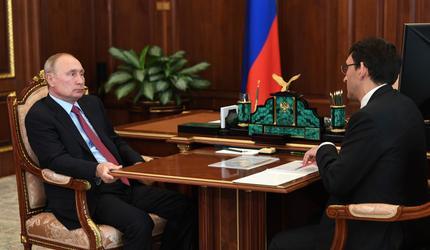 Путин обсудил с главой РКН пути защиты личных данных россиян в Сети