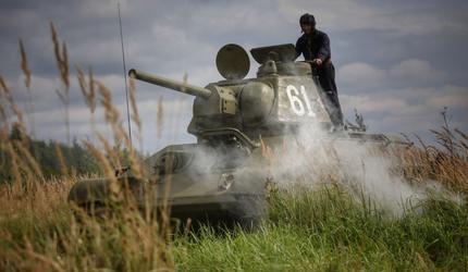 «Ветеранские вести» снимают фильм о героях ВОВ с уникальной боевой техникой